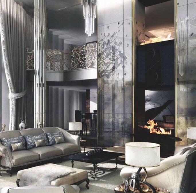 Milyen szerepe lehet a bőrbútoroknak a Glamour stílusú otthon megteremtésében?