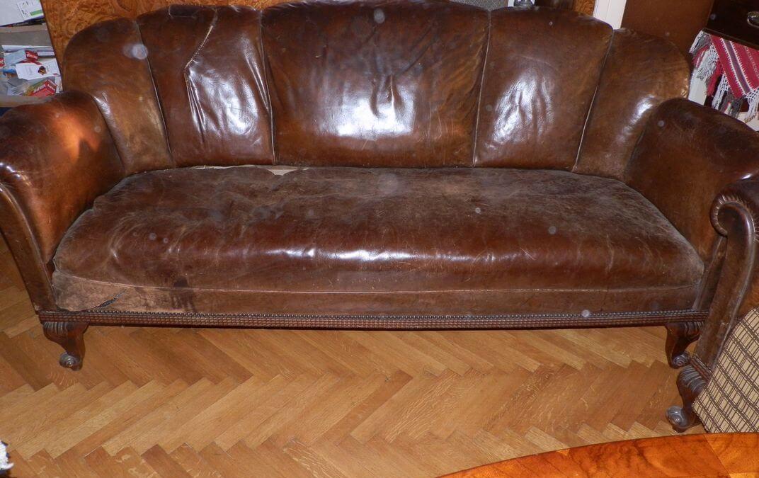 Antik ülőgarnitúra felújítása